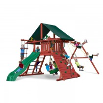 Sun Climber I Swing Set w/ Sunbrella Canvas Forest Green Canopy  - 01-0024-G-210x210.jpg