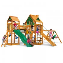 Pioneer Peak Treehouse Cedar Swing Set with Wood Roofs & Amber Posts - 01-0055-AP-210x210.jpg