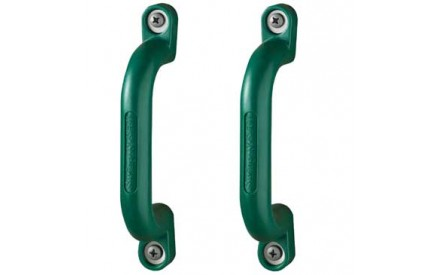 Safety Handles in Green by Swing-N-Slide