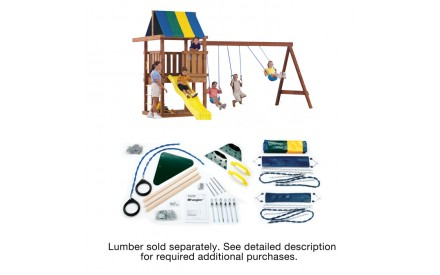 Wrangler Swing Set Kit Project 825