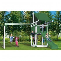 KC3 Deluxe Vinyl Swing Set by Swing Kingdom - 4 Color Options - kc3-deluxe-swing-set-wg-210x210.jpg