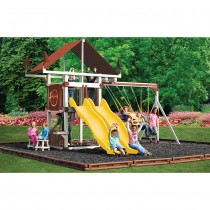 Swing Kingdom Deluxe Kastle Tower Vinyl Swing Set KC7 - 4 Color Options - kc7-deluxe-swing-set-ayr-210x210.jpg
