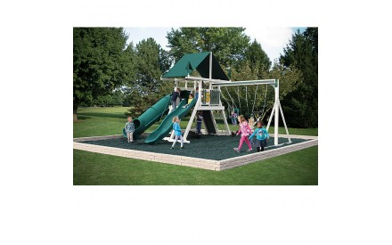 Swing Kingdom SK-12 Mountain Climber Vinyl Swing Set - 4 Color Options