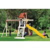 Swing Kingdom SK3 Vinyl Mountain Climber Swing Set - 4 Color Options