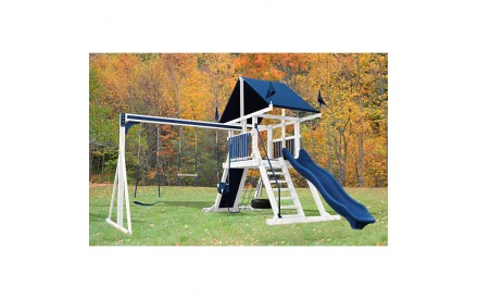 Swing Kingdom SK-4 Mountain Climber Vinyl Swing Set - 4 Color Options