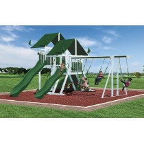 Swing Kingdom SK30 Vinyl Mega Mountain Climber Swing Set - 4 Color Options - sk-30-white-green-210x210.jpg