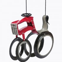Tractor Tire Swing CASE IH Tractor Tire Swing