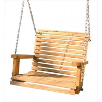 Gorilla Playsets Pine Babysitter Swing