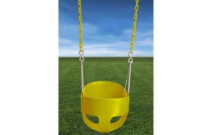 Residential Full Bucket with Chain in Yellow