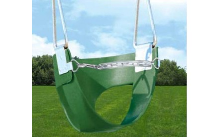Toddler Half Bucket Swing by Creative Playthings Chain