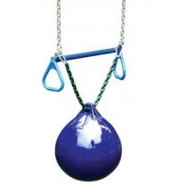 Gorilla Playsets Buoy Ball with Trapeze Bar - Blue - Buoy-Ball-Trapeze-Blue-210x210.jpg