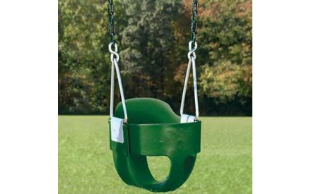 Residential Full Bucket Swing Creative Playthings - Chain