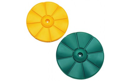 Daisy Disc Swing Without Rope in Yellow or Green