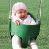 Residential Full Bucket Swing Creative Playthings - Rope