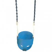 Gorilla Playsets Blue Full Bucket Toddler Swing