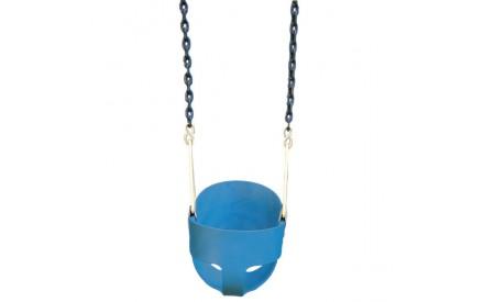 Gorilla Playsets Blue Full Bucket Toddler Swing