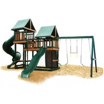 Kidwise Congo Monkey Playsystems #3 Swing Set Green & Brown - KidWise-Monkey-Green-210x210.jpg