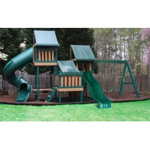 Kidwise Congo Monkey Playsystems  #4 in Green & Brown