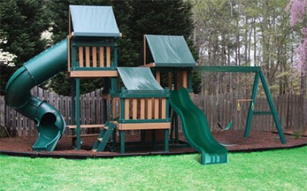 Kidwise Congo Monkey Playsystems  #4 in Green & Sand