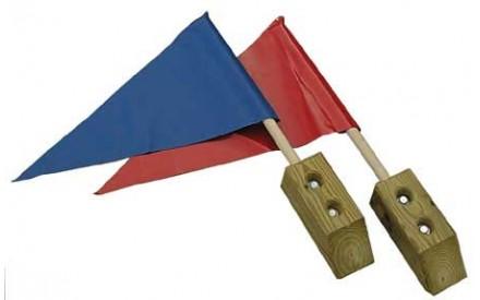 Flag Kit (Pair) - Swing Set Accessories