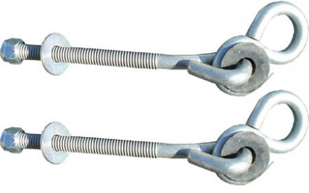 Six inch Bolt Thru Hangers