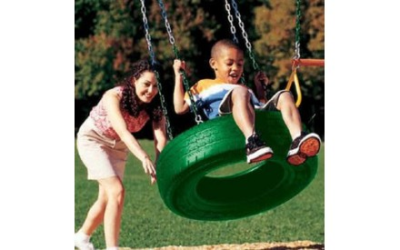 Single Axis Tire Swing by Creative Playthings