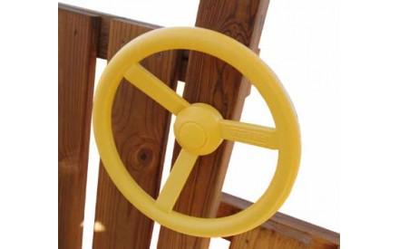 Steering Wheel in Yellow by Swing-N-Slide