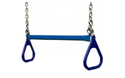 "Gorilla Playsets 21"" Trapeze bar w/ rings - Blue"