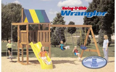 Wrangler Swing Set Kit Project 280