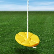 Daisy Disc Swing in Yellow or Green