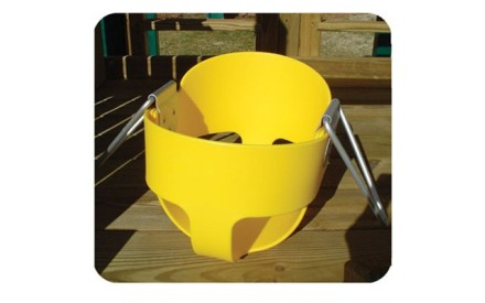 Residential Full Bucket in Yellow (NO Chains)