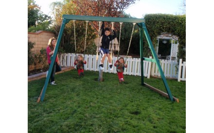 KidWise Congo Swing Central Swing Set