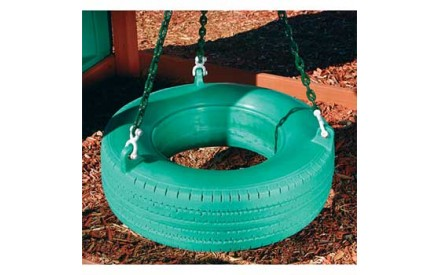 Residential Plastic Tire Swing