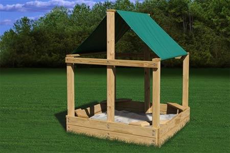 sandboxes seesaws including sandbox kits kidkraft