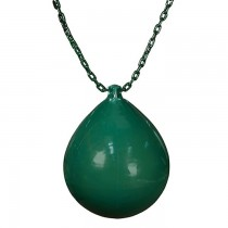 Buoy Ball W/Chain in Green