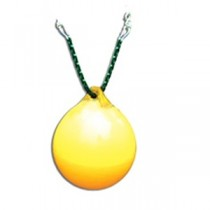 Buoy Ball W/Chain in Yellow