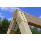 Free Standing A Frame Brackets Set of 4