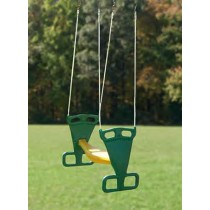 Back to Back Glider Swing with Rope