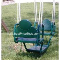 Face to Face Glider Swing for Two